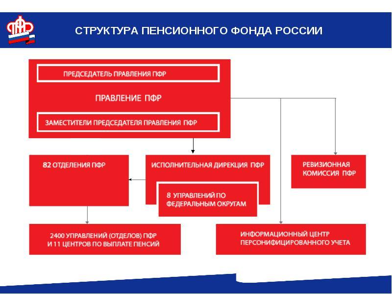 Структура Пенсионного фонда России: функции, аппараты, люди
