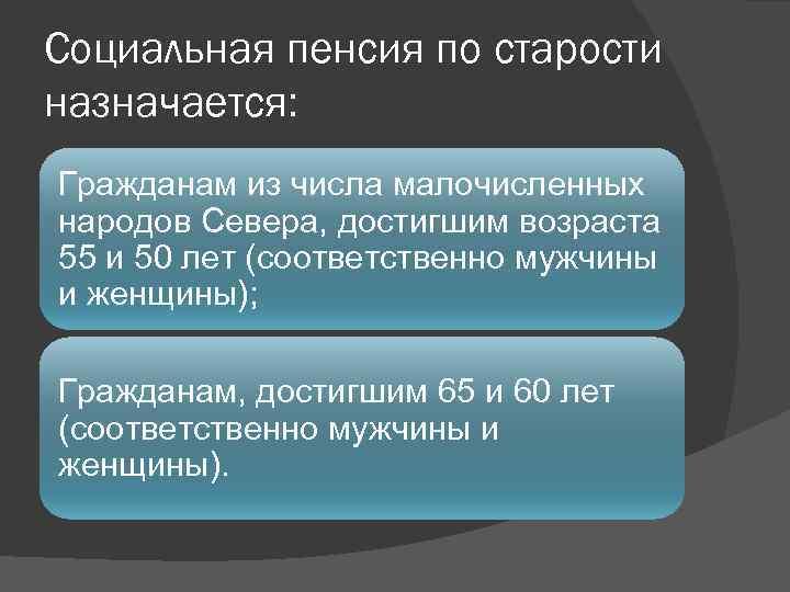 Пенсия по старости в РФ: страховая, социальная, государственная